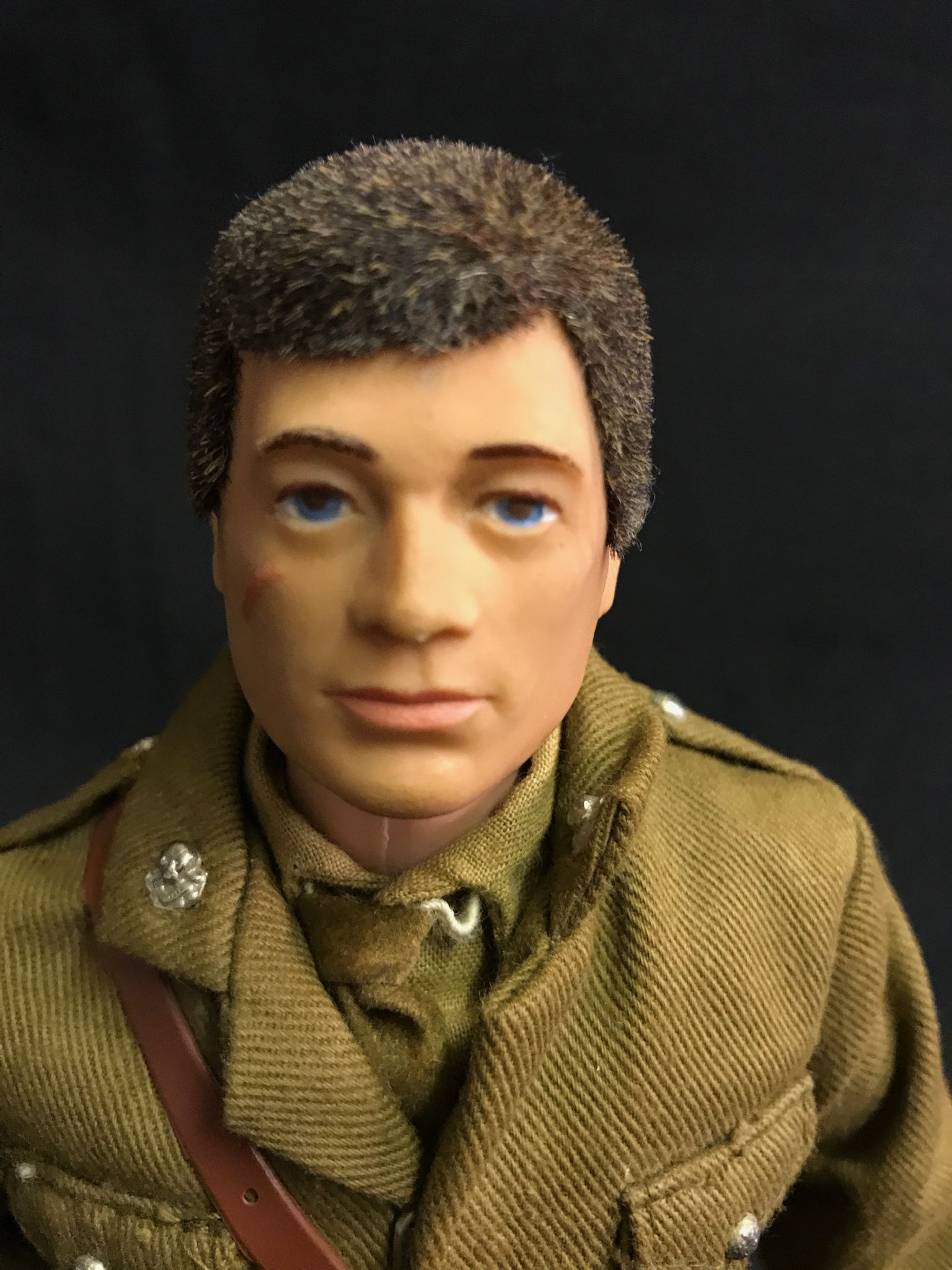 ACTION MAN VINTAGE ACTION MAN BRITISH ARMY OFFICER Ref - British army hairstyle